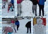 zimowe zabawy gr 4